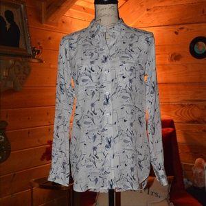 Equipment Femme silk button down blouse
